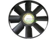 Ventilador de 9 Aspas para Tractores John Deere Series 6005, 6020, 6030, 7005, 7020 y 7030