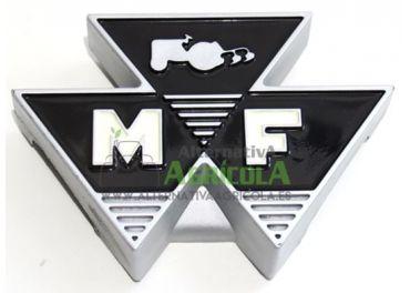 Emblema plástico frontal logo Massey Fergsuson