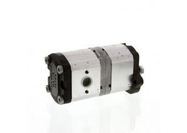 Bomba hidráulica Bosch 14+8cm³ Tractores Massey Ferguson, Landini y Mc Cormick