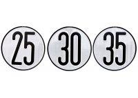 Disco velocidad homologado 40 km/h