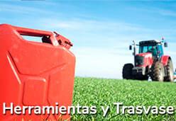tractor trasvase
